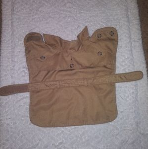 Isaac mizrahi for target dog trench coat